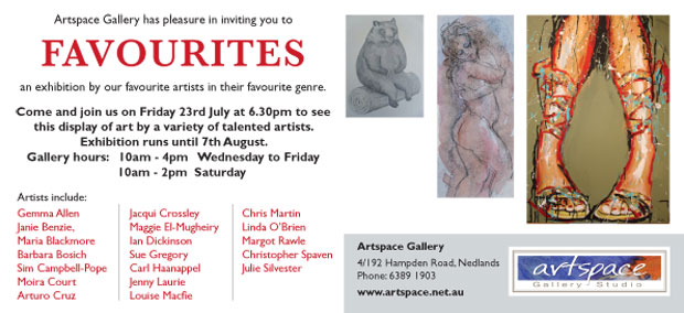 Artspace Exhibition Flyer