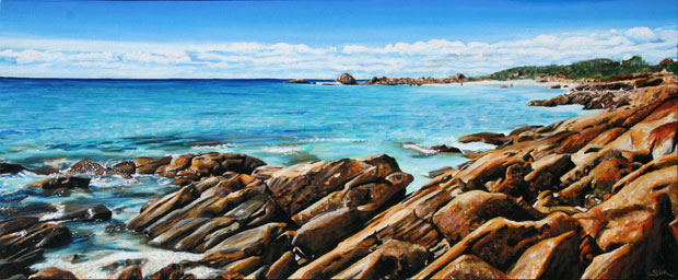 Eagle Bay Dark Rocks