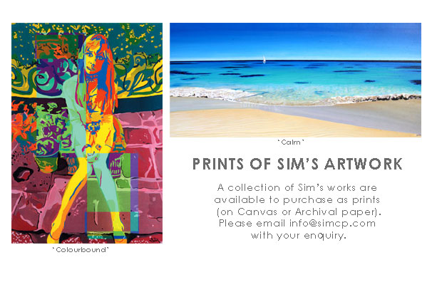 Prints of artworks