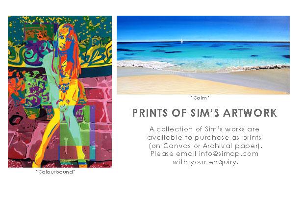 Prints of artworks