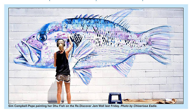 'Daryl the Dhu' Mural for Re-Discover- SixTwoThreeZero,